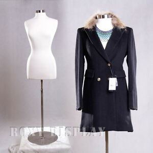 Female Size 10 12 Mannequin Manequin Manikin Dress Form f10 12w bs 04