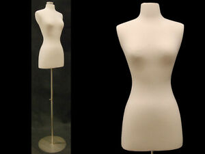 High Quality Size 2 4 Female Mannequin Dress Form metal Base fwpw 4 Bs 04
