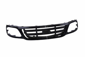 Black Front Grille W Bar For 99 03 Ford F150 Pickup Truck 04 Hertiage Fo1200376