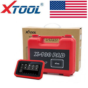 Xtool X100 Pad Tablet Obd2 Programmer Odometer Correction Eeprom Diagnostic Tool