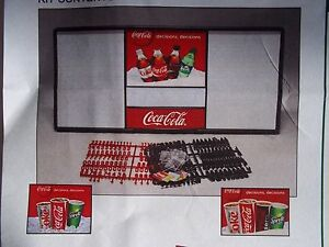 New 4ft Coca cola Menu Board W 6 Sets Of Letters Numbers
