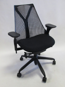 Herman Miller Sayl Chair Black Excellent Condition