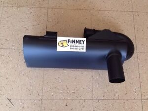 John Deere Jd 450g 455g 550g 650g Crawler Dozer Loader Turbo Muffler At166078