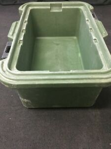 Cambro Camcarrier Food Storage Pan Container Carrier Upcs180 8 Deep 3 No Lid