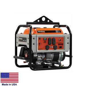 Portable Generator Commercial 4 500 Watt 4 5 Kw 120 240v 9 Hp Recoil