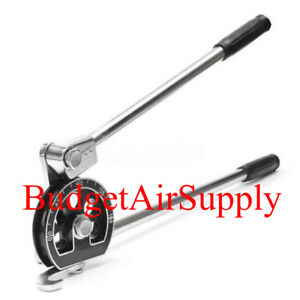Manual Tube Pipe Bender Tool For 3 4 od Hvac Soft Copper Steel Refrigerant Tube