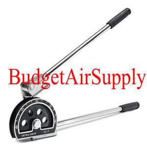 Manual Tube Pipe Bender Tool For 7 8 od Hvac Soft Copper Steel Refrigerant Tube