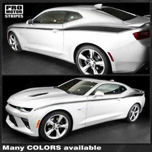 Chevrolet Camaro 2016 2018 Javelin Style Side Stripes Decals choose Color