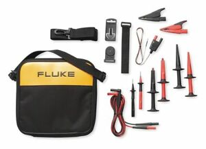 Fluke Test Lead Kit For Use With Multimeters And Clamp On Ammeters Tlk289