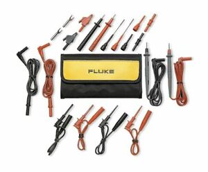 Fluke Test Lead Kit For Use With Multimeters And Clamp On Ammeters Tl81a
