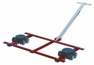 Gks perfekt Tandem Machine Dolly 13 200 Lb Steel Number Of Rollers 16