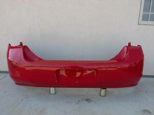 08 09 10 11 Ford Focus Rear Bumper Cover Oem