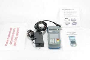 First Data Fd400 Credit Card Machine Power Supply Included 12