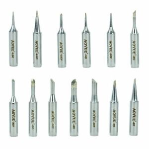 Aoyue hakko Set Of Soldering Iron Tips Bevel