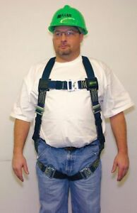 Miller Universal Construction Confined Space Full Body Welder Harness 5000 Lb