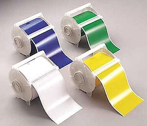 Brady Clear Static Cling Label Tape Cartridge Indoor Label Type 50 Ft Length
