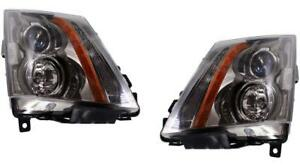 2009 2014 Cadillac Cts For Halogen Headlights New Pair 2008 2014 Cts v