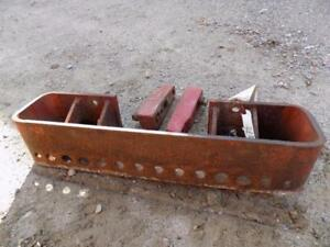 International Harvester Suitcase Weight Bracket For 1066 Tractors