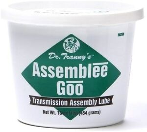 Transmission Assembly Goo By Lube Gard Green Goo Lube Free Shipping