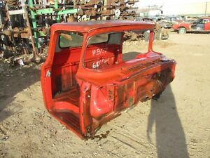 57 58 59 60 Ford Pickup Truck Cab Dash Roof Top Firewall Cowl Floor