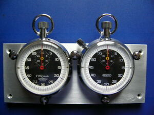 Stopwatch Dash Mount Swiss Made Jaguar Porsche Mga Mgb Mini Cooper Tr6 Heuer