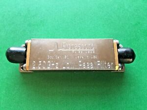 Picosecond Pulse Labs 5915 100 2 5ghz Low pass Risetime Bessel Filter Sma