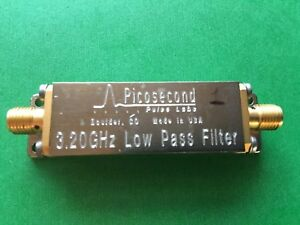Picosecond Pulse Labs 5915 100 3 2ghz Low pass Risetime Bessel Filter Sma