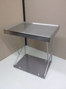 New Commercial Kitchen Countertop Set Aside Baking Prep Shelf Stand 10 5 X 14