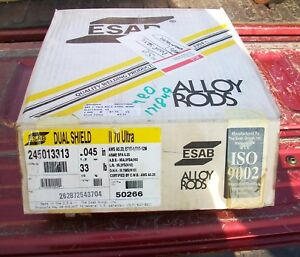 Esab Dual Shield Welding Wire 245013313 045 33 New In Box