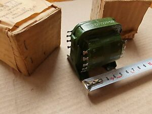 Filament Transformer Tf12 127 220 50 8 8w In Box Made In Ussr Military 2pcs