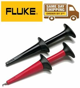 Fluke Ac280 Suregrip Insulated Hook Clips Test Leads For Tl222 Tl224 Usa Seller