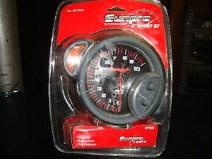 Cp7900 Sunpro 5 Sport St Tachometer 0 10 000 Rpm With Shift Light