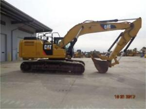 2015 Caterpillar 329fl With Thumb Hydraulic Excavator Cat 329