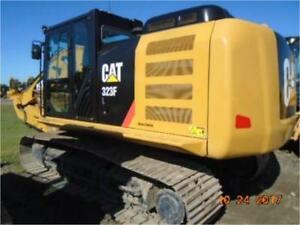 2016 Caterpillar 323fl With Thumb Hydraulic Excavator Crawler Track Cat 323