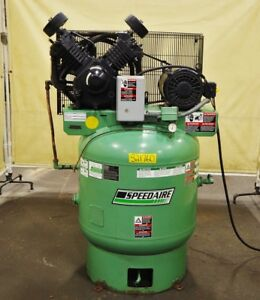 Speedaire 10 Hp 80 Gallon Air Compressor 1wd71