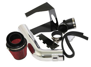Red Cold Air Intake Kit heat Shield Fit 09 10 Ford F150 07 14 Navigator 5 4l V8
