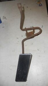 1969 1970 Ford Mustang Mercury Cougar Gas Pedal With Chrome Trim