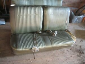 1968 69 70 71 72 Chevelle Ss Gto 400 Gs 400 442 Lemans Front Bench Seat Setup