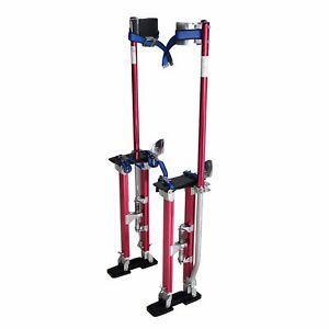 Steel Core 18 In 30 In Adjustable Aluminum Drywall Stilts Tool For Painting