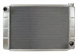 Northern 209657 Aluminum Racing Radiator Universal Gm Chevy 26 X 16 Low Profile