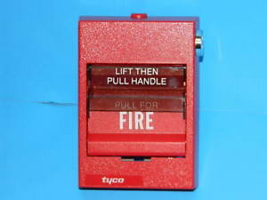 New Tyco Adt 278 n Fire Alarm Pull Station Addressable