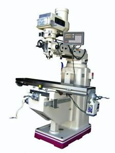 gmc Manual Knee Type 10 X 54 Vertical Milling Machine New