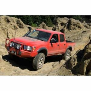 Arb 3423040 Front Deluxe Bull Bar Winch Bumper Black Fits 95 04 Toyota Tacoma
