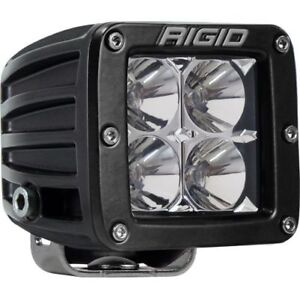 Rigid Industries 201113 D Series Pro Flood Light 4 White Led Single