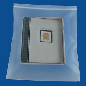 Clear Reclosable Plastic Bags 16 X 20 4 Mil Merchandise Shipping Polybags 4500