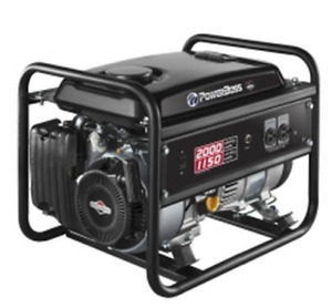 Best Seller Selling Briggs Stratton Gas Powered Portable 1500 Watt Generator