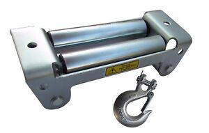 Rugcel Winch Roller Fairlead 10 Universal Mount With 3 8 Hook