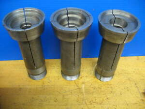 3 Hardinge 20c Extra Depth 3 Emergency Step Chuck Machinable Collets