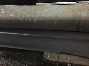 Industrial Steel I beams 10 Tall X 4 w X 18 Long Used Galvenized Steel I Beams