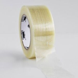 Industrial Grade Filament Tape 2 X 60 Yards 4 8 Mil Strapping Tapes 12 Rolls